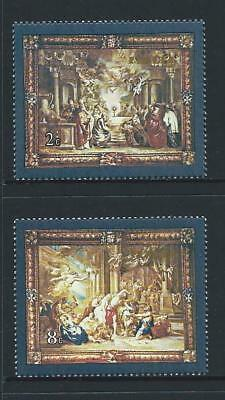 1980 MALTA Tapestry Set MNH (Scott 567-568)