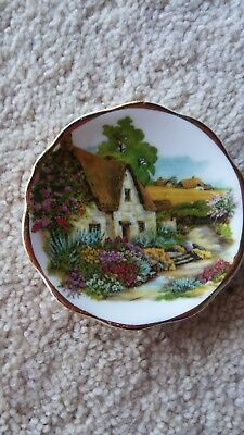 """3"""" Cottage & Garden Fine Bone China-Made in England Plate"""
