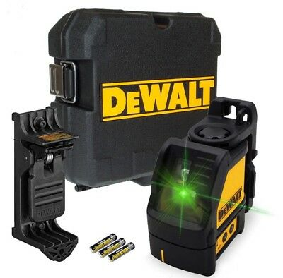 Dewalt DW088CG Green Cross Line Laser Level Self Levelling