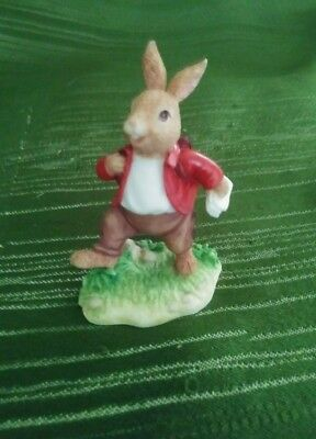 """Royal Doulton William Bunnykins """"A Bunny in a Hurry"""" with Box"""