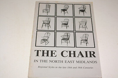 The Chair In The North East Midlands Regional Styles In The Late C18Th And C19Th