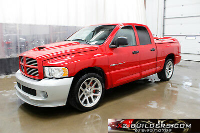 2005 Dodge Ram 1500 SRT10 Quad Cab Dodge RAM SRT10 1500 Quad Cab, 8.3L Salvage Title, Repairable, #837500