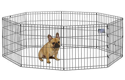 Dog Cage - Home for Pets Foldable Metal Exercise Pen / Pet Playpen, 8 Panels