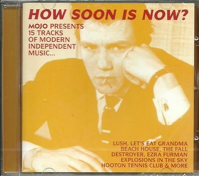 MOJO How Soon Is Now CD 2016 modern indie music LUSH Beach House The Fall Throws