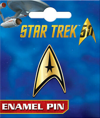 Star Trek Command Insignia Spilla Smaltata