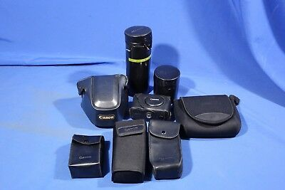 LOT of Assorted Canon Camera, Lens & Accessory Cases #L4267BP AS-IS