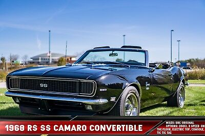 1968 Chevrolet Camaro RS SS 1968 RS SS Camaro Convertible Original Engine & Trans