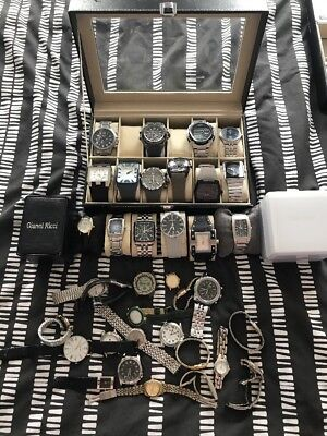 Working mens designer watches Joblot . Police And More.