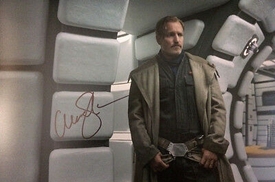 (SOLO) Star wars Woody Harrelson 12x8 with COA original hand signed photo