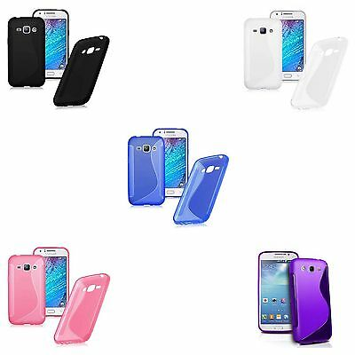 Case For Samsung Galaxy J5 S-Line Silicone Gel Skin Shockproof Phone Cover