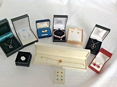 Job Lot Collection Quantity Vintage & Modern Sterling Silver 925 Jewellery