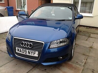 Audi A3 convertible 2 owners from new