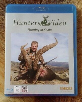"Jagd Blu-Ray Disc: ""Jagd in Spanien"" von Hunters Video, NEU & OVP"