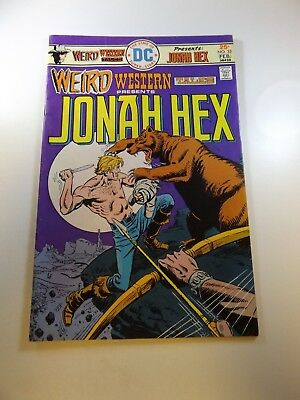 Weird Western Tales #32 starring Jonah Hex FN condition