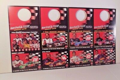 2000 NASCAR Coca-Cola Racing Family 16 Card Set Adam Petty , Dale Earnhardt More