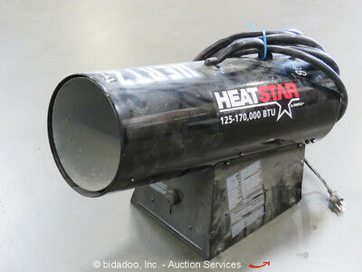 2014 Heatstar HS170FAVT Propane Electric Space Heater 170,000 BTU 115V bidadoo