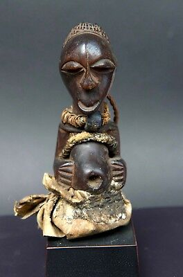 Very fine carved Songye figure from Congo