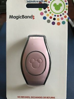 Millennial Pink Magic Band 2 Rose Gold MagicBand 2 Disney World Theme Parks NEW