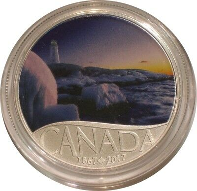 2017 Silver $10 Ten Dollars Canada PANMURE ISLAND superb Gem BU with COA