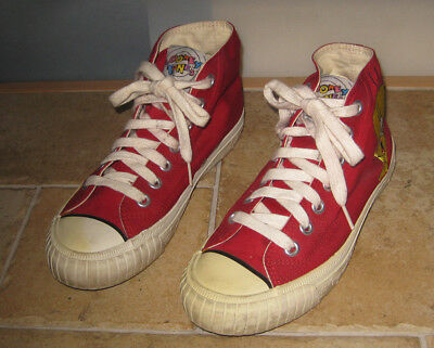 VINTAGE Damenschuhe ROT Looney Tweety Tunes Keds EmboideROT Tweety Looney Bird Canvas ... d08ee9