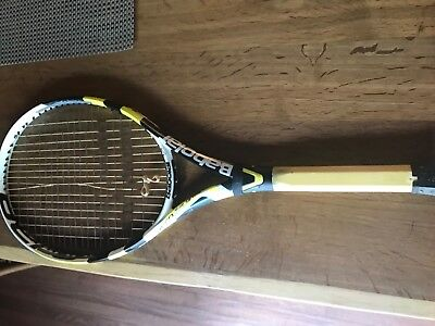 Pro Stock Tennis Racquet- Babolat Aeropro Drive used by Brian Baker