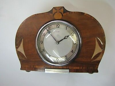 8 Day Smiths Mantle Clock complete