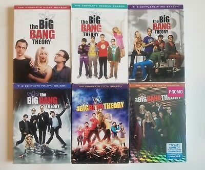 The Big Bang Theory Series Seasons 1-6 Season 1 2 3 4 5 6 DVD