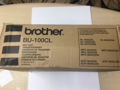 Genuine OEM Brother BU100CL Transfer Belt Unit BU-100CL 012502617686