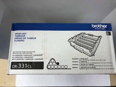 Genuine OEM Brother  DR-331CL Drum Unit DR331CL 012502637929