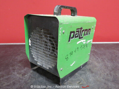 Patron E1.5 Industrial Space Jobsite Heater 5100 BTU/Hr 116 CFM 120V bidadoo