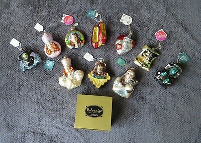 Wizard of Oz Polonaise Ornament Collection - 10 Ornaments