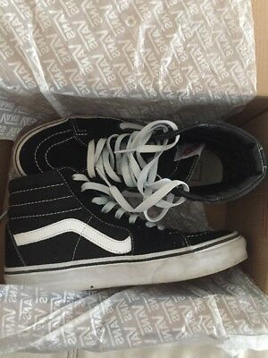 womens Vans off the wall Hi shoes size 7.5