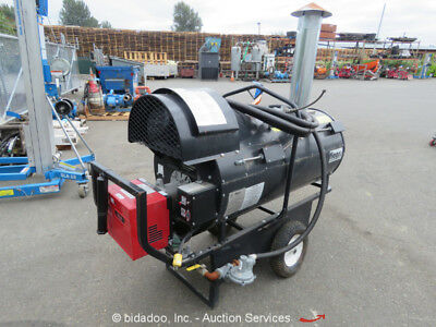 Flagro FVNP-400 390,000 BTU Dual Fuel Indirect Fired Industrial Jobsite Heater