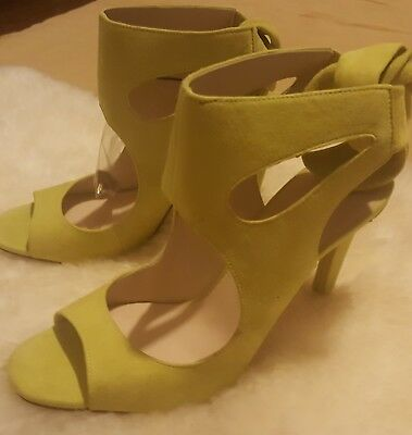 96d38e801f3 ZARA SUEDE LEATHER Bow High Heel Sandals