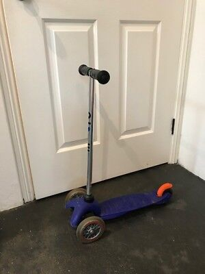 Pre-Loved Mini Micro Scooter Blue