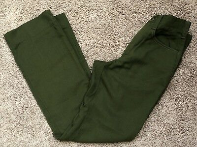 FSS Aramid Wildland Firefighter Pants Green Made in USA Size 28x34