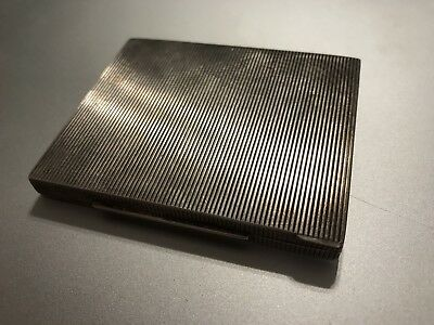Art Deco .935 Silver Card / Cigarette Case 79.37 grams total weight