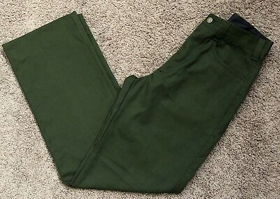 FSS Aramid Wildland Firefighter Pants Green Made in USA Size 32x34