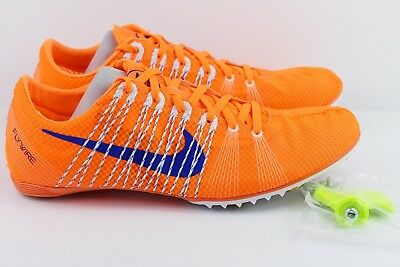 4c2b498da8a4f3 Nike Zoom Victory 2 Mens Size 12 Track Spikes Shoes Orange 555365 841  Flywire