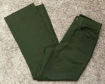 FSS Aramid Wildland Firefighter Pants Green Made in USA Size 28x30