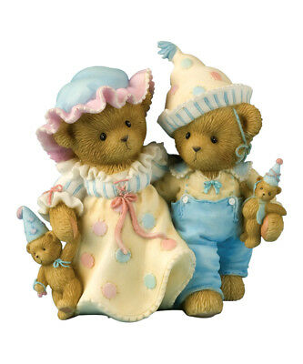 "Cherished Teddies Club Piece ""jean & Hubert"" Clowns 4012928 New *  Free Shipping"
