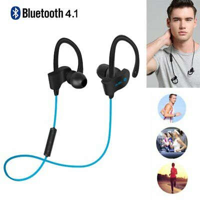 XGODY Sweatproof Bluetooth 4.1 Earphone Sport Headphone Wireless Stereo Headsets