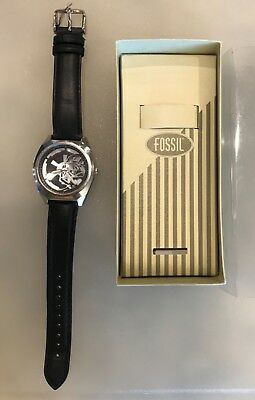 Star Wars Darth Vader Fossil Men's Watch Limited Edition New In Box 1997 -RARE