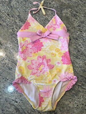 9c36cc6a61 Janie And Jack Girls Vintage Swimsuit Size 6 Sunny Resort **please Read