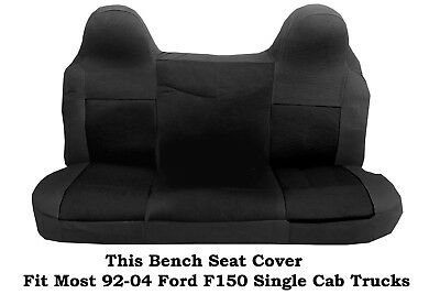 Awesome Black Gray Mesh Fabric Bench Seat Cover Fits Ford F150 Bralicious Painted Fabric Chair Ideas Braliciousco