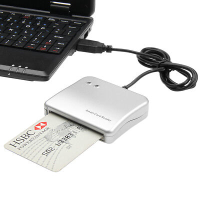 Easy Comm USB Smart Card Reader reads both IC/ID card within a single device