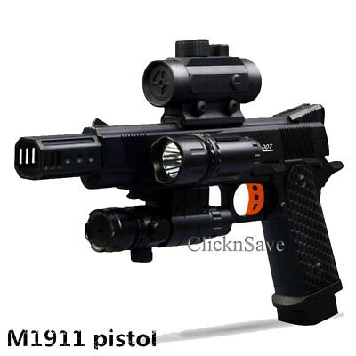 NEW 28M RANGE Water Crystal Bullet High Speed Blaster Gun Outdoor Play Age  14+