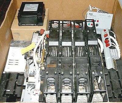 ASCO 7000 Series ATS 800 Amp 480 V H-Design Open Automatic Transfer Switch New