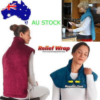1pcs Health Relief Wrap Massaging Heat Wrap Muscles Neck Pain Relief Pad Therapy