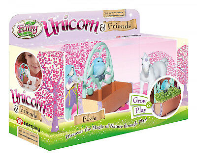 My Fairy Garden Unicorn and Friends Play Set Girls Christmas Present